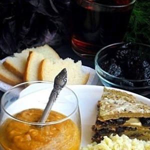 Рецепты кавказской кухни - Cоус из фасоли а-ля Акуд