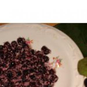 Рябина - Цукаты из аронии (черноплодной рябины)
