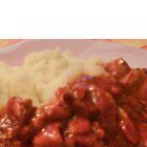 Ленок - Цыпленок по-мексикански в остро-сладком соусе чили