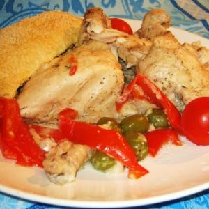 Розмарин - Цыплёнок, запечённый в хлебном тесте