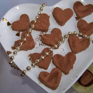 Миндаль - Десерт без выпечки Миндальные сердечки