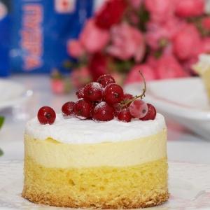 Перепелиное яйцо - Десерт по мотивам краковского сырника