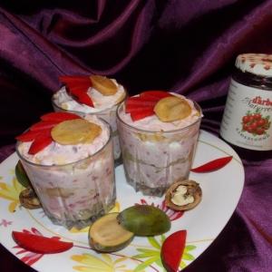Слива - Десерт слоями