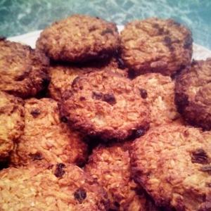 Фрукты - Диетическое овсяное печенье