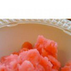 Арбуз - Домашний фруктовый лед