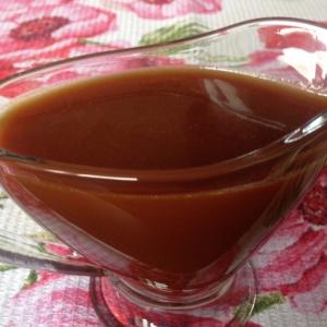 Сливки - Домашний соленый карамельный соус