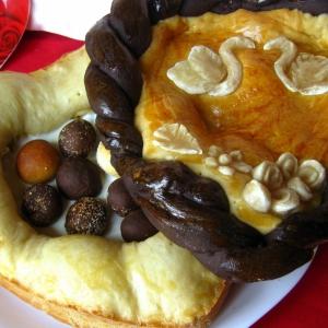 Кокос - Дрожжевой пирог Шкатулка для любимого