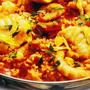 Рецепты североамериканской кухни - Джамбалайя с морепродуктами
