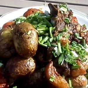 Рецепты азербайджанской кухни - Джиз Быз на огне в казане
