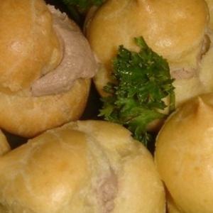 Вермут - Эклеры с паштетом из куриной печени