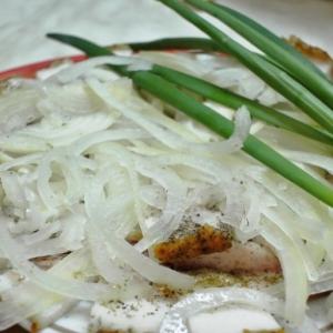 Рецепты украинской кухни - Экспресс-закуска из сала Казацкая