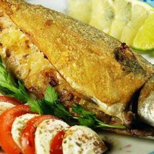 Запеченная рыба - Фаршированная скумбрия