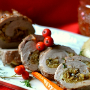 Свинина - Фаршированная свиная вырезка