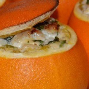 Грейпфрут - Фаршированные апельсины Золотые шары в аэрогриле
