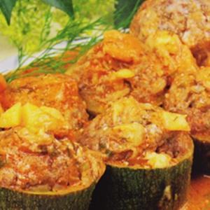 Фаршированные овощи - фаршированные кабачки