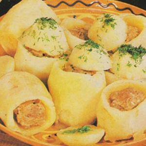 Фаршированные овощи - Фаршированный картофель по-карачаевски