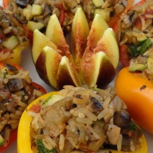 Фаршированный перец-рататуй