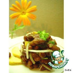 Айва - Фасолевый салат с айвой