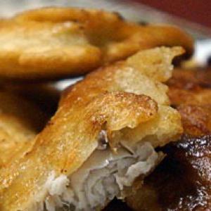 Перец белый - Филе тилапии в кляре