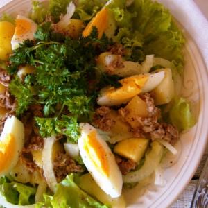 Тунец - Фирменный салат с тунцом от Нонны Гришаевой