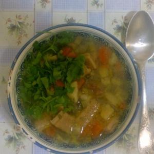 Рецепты польской кухни - Фляки по-деревенски