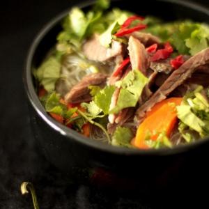 Острые блюда - Фо Бо - китайский суп с лапшой
