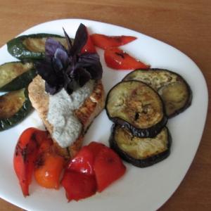 Майоран - Форель с овощами