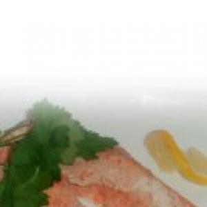 Форель - Форель в сметанно-соевом соусе