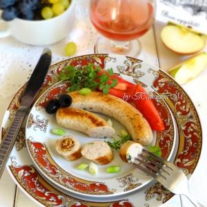 Рецепты из мяса птицы - Французские колбаски Буден Бланк