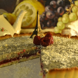 Кокос - Французский белый торт