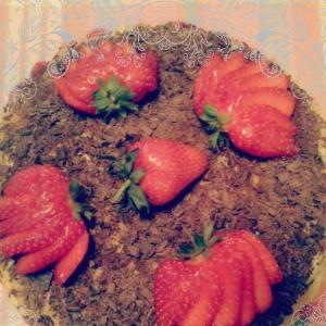 Бузина - Французский торт Фрезье