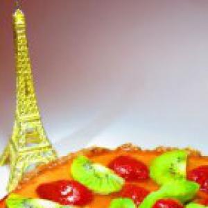 Киви - Французский торт