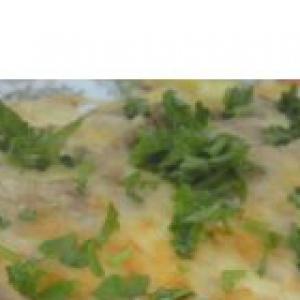 Тунец - Фриттата или омлет с кабачком и тунцом