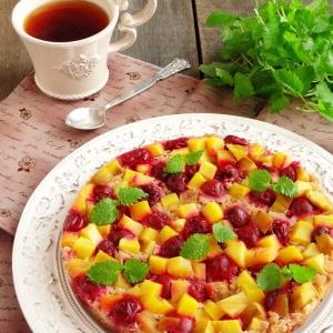 Ванилин - Фруктово-ягодный гречневый бисквит