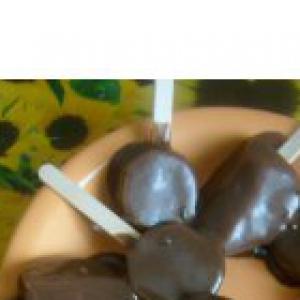 Киви - Фрукты в шоколадной глазури