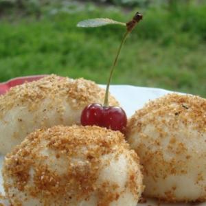 Рецепты для пароварки - Гамбовцы с вишней
