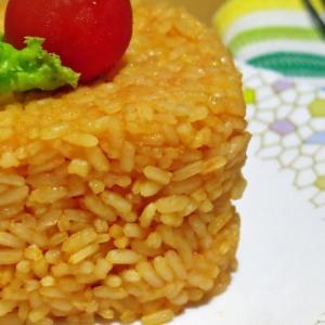Гарнир Томатный рис с сыром
