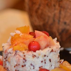 Мандарин - Гавайский пудинг с рисом и киноа