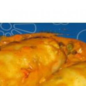 Капуста белокачанная - «Голубчики» с куриной грудкой и овощами