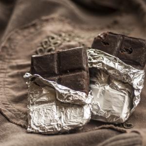 Фрукты - Горький шоколад