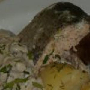 Горбуша - Горбуша в соусе Изюминка