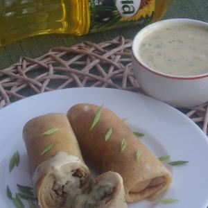 Говядина - Горчично-медовый соус к блинам с мясом