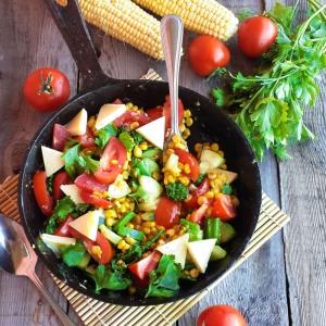 Масло кукурузное - Горячая овощная сковорода