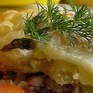 Рецепты скандинавской кухни - Гратен Искушение Янсона