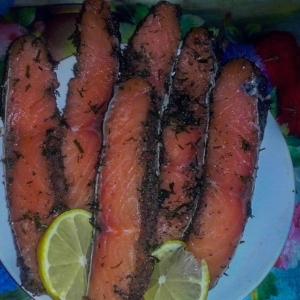 Рецепты скандинавской кухни - Гравлакс