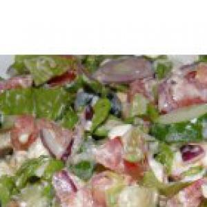 Рецепты греческой кухни - Греческий салат