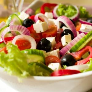 Вегетарианская кухня - греческий салат