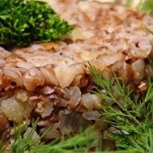 Рецепты славянской кухни - Гречневая каша с картофелем