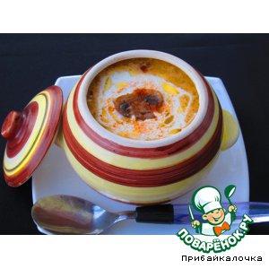 Мускатный орех - Грибной крем-суп Капучино