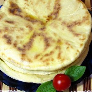 Рецепты кавказской кухни - Грузинские лепёшки с сыром Хачапури